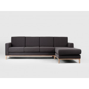 CUSTOMFORM  sofa SCANDIC 3 os. narożnik z szelongiem P