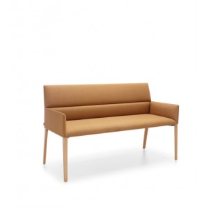 PROFIM Sofa CHIC AIR B20HW wood