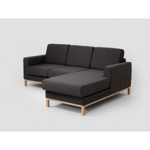 CUSTOMFORM  sofa SCANDIC narożnik  2 os. z szelongiem P